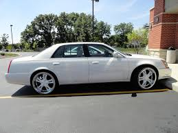 Nice Cadillac DTS with Rims & Vogues jahman3000