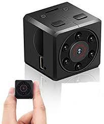 mini kamera euskde hd 1080p tragbare kleine überwachungskamera mikro versteckte kamera mit bewegungserkennung und infrarot nachtsicht compact