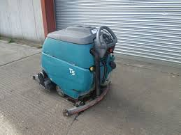 tennant t5 electric scrubber dryers for sale floor cleaning