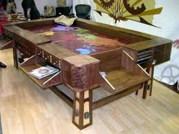 dining tables table pool room combo outstanding converts to 61 for