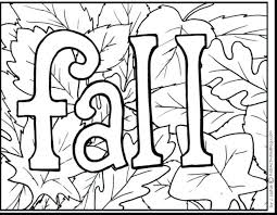 Autumn Colouring Pages For Preschool Printable Coloring Adults Fall Sheets Page Free