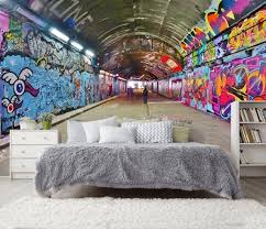graffiti arch graffiti tunnel tapete wandaufkleber graffiti 3d wand wand bild selbst klebende exklusive sexclusive design 3d foto wallpaper