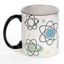 Atomic Age Symbols 50s Vintage Coffee Mug Kitchen Cups 10 Oz