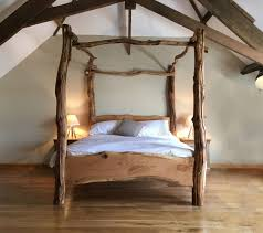 Oak Four Poster Bed King
