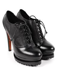 wedged lace ups by azzedine alaia court shoes ikrix
