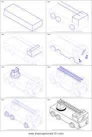 100 Fire Truck Drawing How To Draw Truck With Ladder Printable Step By Step Drawing