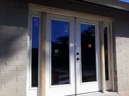 Therma Tru Patio Doors With Blinds by French Doors With Sidelights Istranka Net