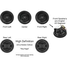 30 Degree Angled Ceiling Speakers by Inwalltech Hd 650 1a High Definition 6 1 2