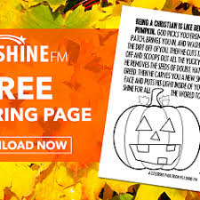 Pumpkin Patch Parable Craft by Shine Daily 95 1 Shine Fm