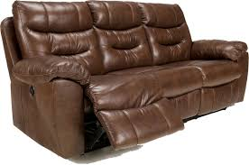 attractive leather reclining sofa wall hugger reclining sofa wall