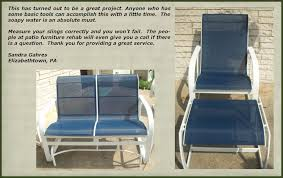 Patio Furniture Replacement Slings Houston by Customer Responses