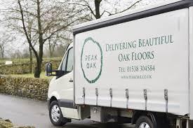 100 Peak Oak Flooring Delivery