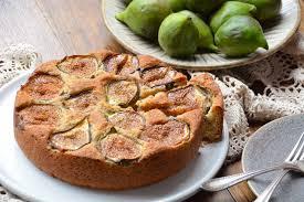 Rustic Fig And Hazelnut Cake