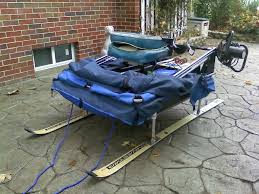Clam Ice Fishing Seats by Homemade Ice Fishing Stuff