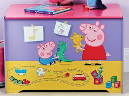 Peppa Pig Toy Box Playroom DecorPig