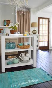 Cottage Kitchen Decorating Ideas Summer Entertaining Staples A DIY Island Vintage Paper