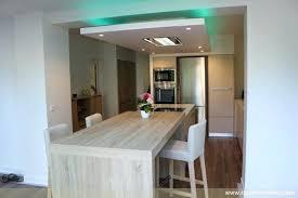 cuisine faux plafond fascinante faux plafond placo salon placoplatre ba13 avec led