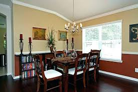 Pictures Of Rooms With Chair Rails Dining Room Rail Paint Colors For