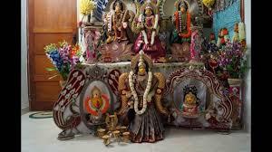 Varalakshmi Vratham Decoration Ideas by 2016 Latest Varahamahalakshmi Festival Mela Youtube