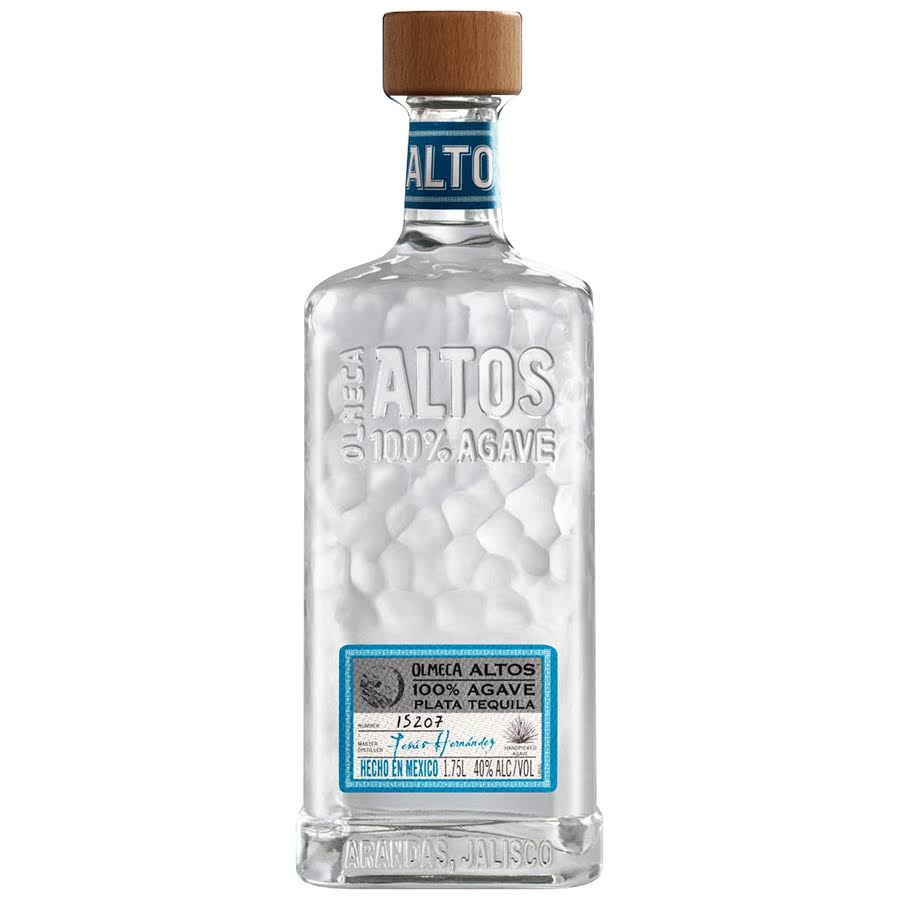 Olmeca Altos Tequila Mexico Plata 1.75 L Bottle