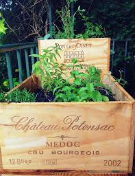 Wine Crates Make Great Pots For More Info Please Visit Thewonderfulwoodcompany
