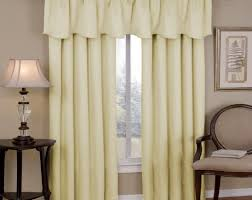 curtains amusing anna lace curtain panel with attached valance
