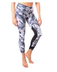 Yoga Pants Deborah The Camo King Mesh Legging