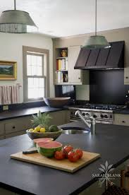 Large Stainless Range With Custom Hood Note The Placement At Corner Of L In