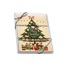 Christmas Tree Gifts 3 Wrapper Bar Box