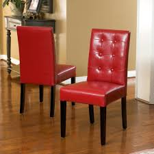 Gillian Red Leather Dining Chair (Set Of 2) – GDF Studio Ander Walnut Taper Back Red Upholstered Ding Chair Country House Fniture Set Of 2 Linblend Abbie World Market Striped Chairs New Homelegance Royal Design Custom Nailhead Tufted For Sale At 1stdibs 7 Modern Homes Cute White Leather Room Black Fabric Red Upholstered Ding Chairs For Really Encourage Iaffdistrict14org Amazoncom Hook Serena Solidwood Fine With 50 Off Velvet Round Glass Kitchen Table Ivory Faux