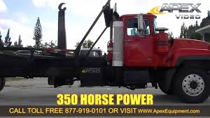 2001 Mack RD690S Hook Lift Truck For Sale - YouTube Trucks For Sales Hooklift Sale 2019 Freightliner Business Class M2 106 Truck Used 2007 Intertional 4300 Hooklift Truck For Sale In New Kenworth Picking Up 30 Yard Dumpster Youtube 2016 Jersey Hino Med Heavy Trucks Dofeng Mini Hook Lift Garbage Truck 5ton Hydraulic Lifter Swaploader 100 Series Dejana Utility Equipment New Style Isuzu Arm Roll Garbage With Hook Lift Systemisuzu China 3cbm For 1ton Photos