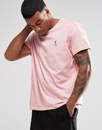 discounted religion store religion oil wash t shirt pale pink