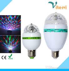 best mini led stage light e27 rgb 3w ac85 265v laser light bulb