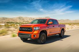 2015 Toyota Tundra TRD Pro Review & Rating | PCMag.com New 2018 Toyota Tacoma Trd Sport Double Cab In Elmhurst Offroad Review Gear Patrol Off Road What You Need To Know Dublin 8089 Preowned Sport 35l V6 4x4 Truck An Apocalypseproof Pickup 5 Bed Ford F150 Svt Raptor Vs Tundra Pro Carstory Blog The 2017 Is Bro We All Need Unveils Signaling Fresh For 2015 Reader