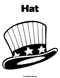 Printable Hat Coloring Pages 76