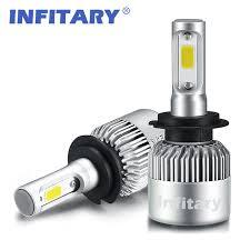 aliexpress buy h7 led car light h1 cob led headlight bulbs