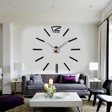 ideas for large contemporary wall clocks contemporary