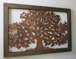 l arbre a cadre cadre en métal motif arbre becquet