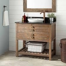 Distressed Bathroom Vanity Gray by Awesome Wood Vanity Bathroom Best 25 Ideas On Pinterest Reclaimed