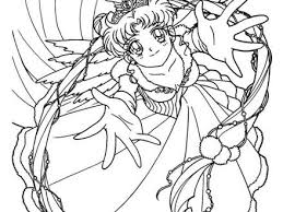 Sailor Moon Dressed Coloring Pages Hellokidscom