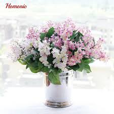 Silk Lilac fake flowers home new Year decoration accessories wedding