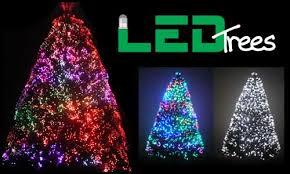 9ft Fiber Optic Christmas Tree