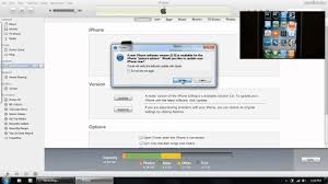 How to update to iOS 5 6 0 1 3194 Error Fix