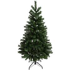 6ft Fibre Optic Christmas Tree With Stars by 6ft 5ft 4ft Green Artificial Mixed Pine Christmas Tree Festive