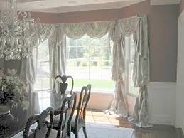 Dining Room Bay Window Treatments Photo
