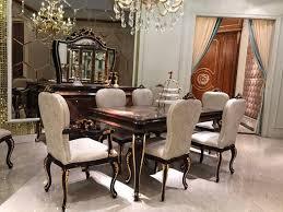 esstisch 8 stühle stuhl esszimmer garnitur barock rokoko tische tisch e70 9tlg