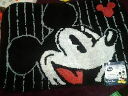 Mickey Mouse Bathroom Images by Disney Mickey Mouse Bathroom Rug Bath Mat Tufted Amazon Co Uk