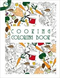 Cooking Coloring Book Amazoncouk Individuality Books Aimee Sullivan