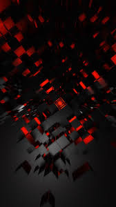 Black And Red Wallpaper iPhone 3D iPhone Wallpaper
