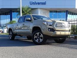 100 Toyota Tacoma Used Trucks 2017 TRD Sport 4X4 Truck For Sale In